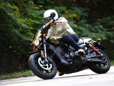Harley-Davidson STREET ROD試乗