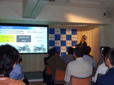 スズキがスポーツアドベンチャーツアラーの新型V-Stromシリーズを発売