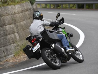 VERSYS-X 250 ABS TOURER試乗