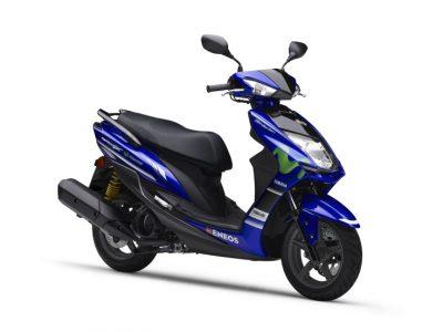 シグナス-X XC125SRに「Movistar Yamaha MotoGP Edition」が登場