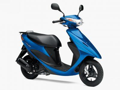 SEPエンジン搭載原付スクーター「アドレスV50」が平成28年国内排出ガス規制対応