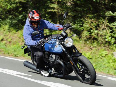 Moto Guzzi V7Ⅲ STONE 試乗
