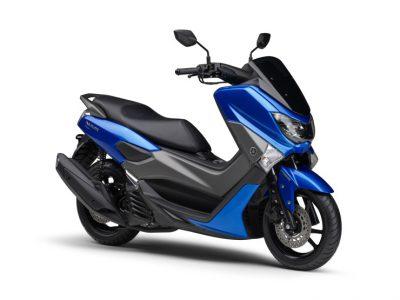 """""""BLUE CORE""""エンジン搭載の軽二輪版スクーターNMAX155 ABSがカラーリング変更"""