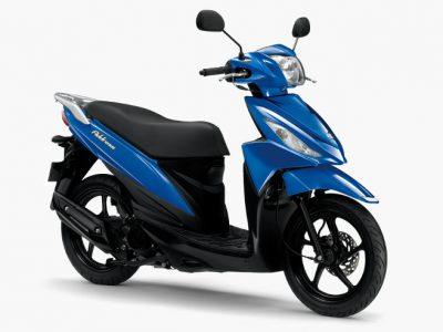 「アドレス110」を平成28年国内排出ガス規制対応とカラー変更して発売