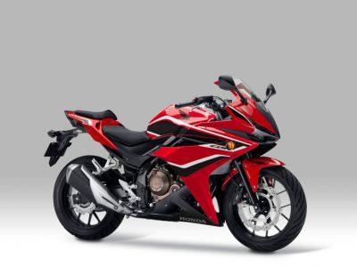 スポーツモデル「CBR400R」のカラーリングを変更するとともに ABS を標準装備して発売