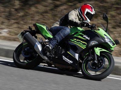 Kawasaki Ninja400試乗 『「小さい方」をベースに生まれた「大きい方」 Ninja400が日本の400ccマーケットを 変えるかもしれない。』