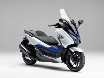 新世代の250スクーターに復権をかける、軽快感と先進性の新型フォルツァ