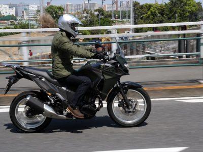 KAWASAKI VERSYS-X 250試乗 『オンロード性能、オフロード性能、 どちらにも偏っていないバランスの良さが大きく光る』