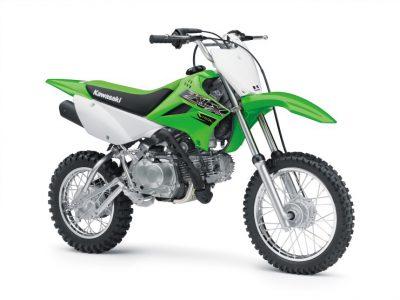 KLX110Lがカラー&グラフィック変更で2019年モデルに