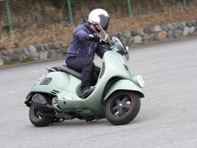 「Vespa Sei Giorni」試乗 歴史的レーシングモデルがモチーフ