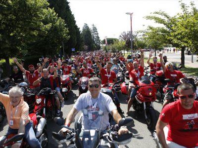 9万を越える観客が集まった 世界最大のドゥカティのお祭り World Ducati Week 2018