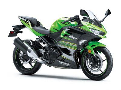 Ninja 400のカラー&グラフィック変更に合わせてNinja 400 KRT EDITIONも2019年モデルに