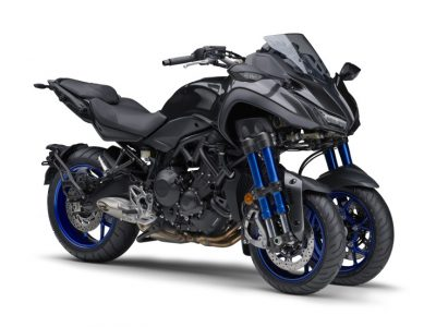 """""""Leaning Multi Wheel""""の大型スポーツモデル「NIKEN」を販売"""