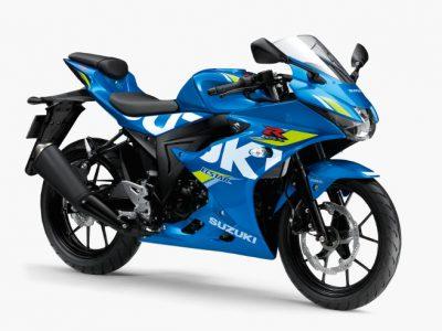 """原付二種版""""スーパースポーツ""""GSX-R125 ABSのカラーリングを変更"""