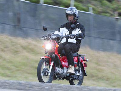 Honda クロスカブ110試乗『冒険の記号、クロスカブ。 これで走れば、日本は大陸だ!』