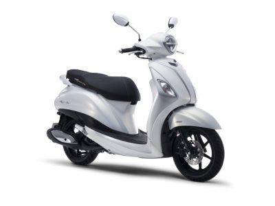 ヤマハがハイブリッドシステム搭載の125スクーター「NOZZA GRANDE」をベトナムで発売