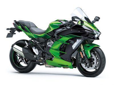 Ninja H2 SXのアップグレードモデル、Ninja H2 SX SEが特殊塗料を採用