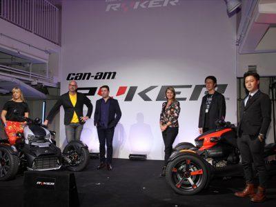 BRPジャパンが3輪スポーツヴィークル「Can-Am Ryker」を発売開始