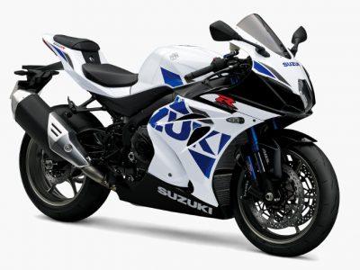 GSX-R1000Rが車体色の変更と、ETC2.0装備、タイヤ変更などのマイナーチェンジ