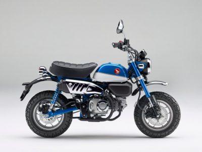 新世代の125版モンキー125に新色を追加して発売