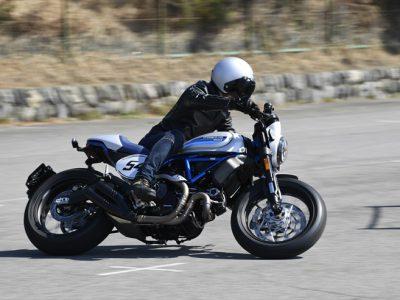 Ducati Scrambler Cafe Racer 『スクランブラーなのに、 カフェとはこれ如何に。』
