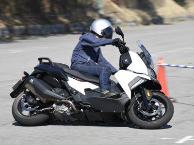 外国車試乗祭 ── Vol.8 BMW C400X 『BMWが作ると、 スクーターはこうなる。』