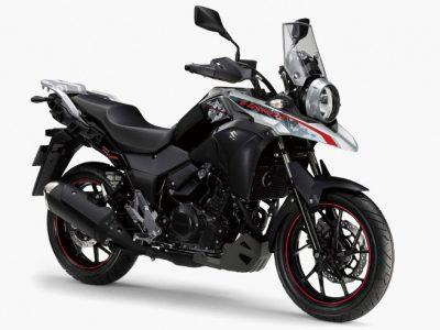 V-Stromシリーズの250版、V-Strom250をカラーチェンジして発売