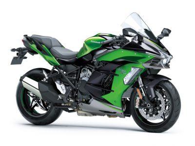 Ninja H2 SXの最上級モデル、Ninja H2 SX SE+のカラー&グラフィックを変更