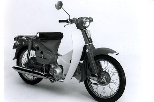 1968年8月 スーパーカブC90