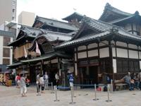 愛媛県の温泉と言えば道後温泉。歌舞伎座のような立派な建物は温泉には見えない。私は入らなかったが、訪れたら入ってみてほしい。