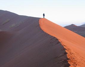 ナミビアナミブ砂漠砂丘