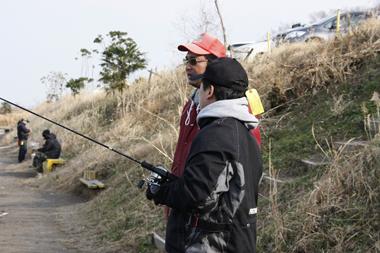 吉羽園のインストラクターから情報収集、釣り方を教えて頂けるのはありがたい