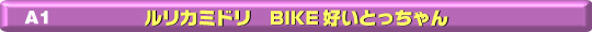 A-1 ルリカミドリ バイク好いとっちゃん