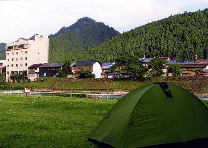 郡上八幡のキャンプ場
