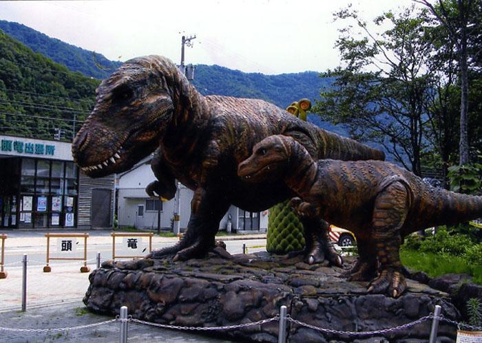 親子の恐竜