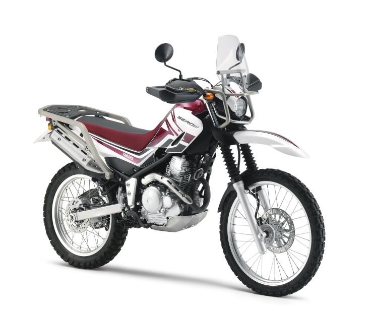 2012年1月30日 SEROW250(JBK-DG17J)パープリッシュホワイトソリッド1(ホワイト/レッド)