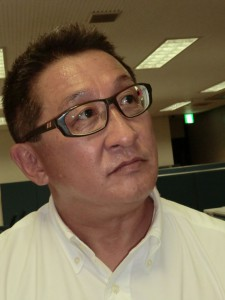 二輪R&Dセンター長でHRC社長の鈴木哲夫氏。