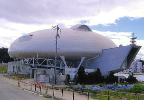 石ノ森章太郎ミュージアムもボロボロでした。早くまた再開してほしいです