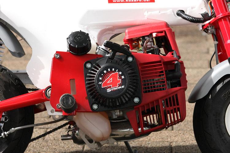 Z31Aと共通のホンダ製OHV31cc単気筒エンジンを搭載する。始動はリコイルスターター。ガソリンタンクは容量650ccだが、シート下にもう一つタンクを追加も可能