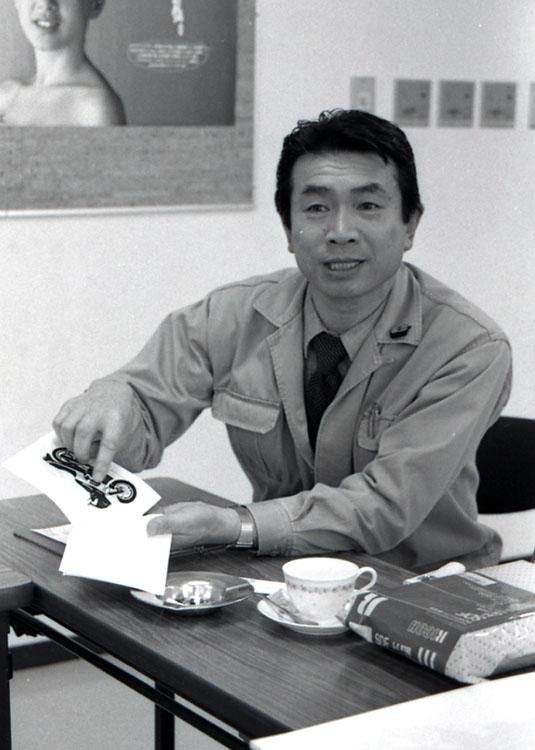 多田憲正氏