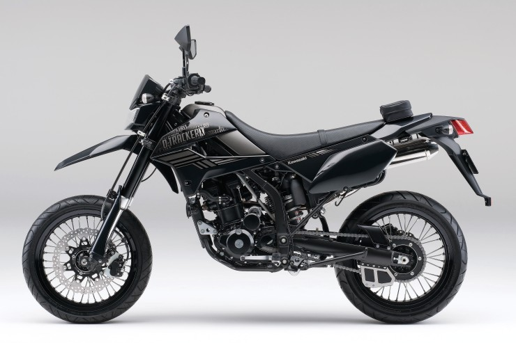 d tracker x がカラー グラフィック変更で2014年モデルに web mr bike
