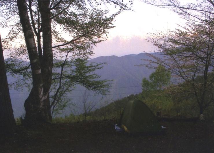 標高約1000mの所にある、大池高原キャンプ場。アルプスもキレイだし、星空もスゴかったんだよ!!