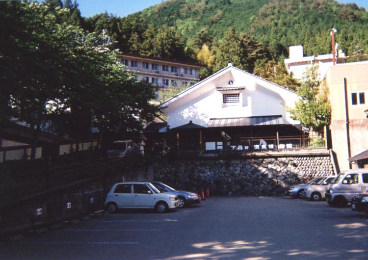 下呂温泉の歴史がわかる、下呂温泉博物館。実は入りたかったけど、休館日だったんだよなぁ〜残念!!