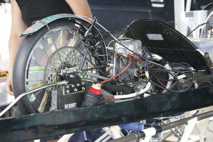 ンジンはニューチャレンジクラスを除き、ホンダ製4ストローク50ccを使用。競技に参加する人のために、エンジン単体販売(73,500円 )も行っている