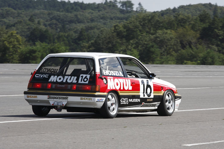 YMUGEN MOTUL CIVIC