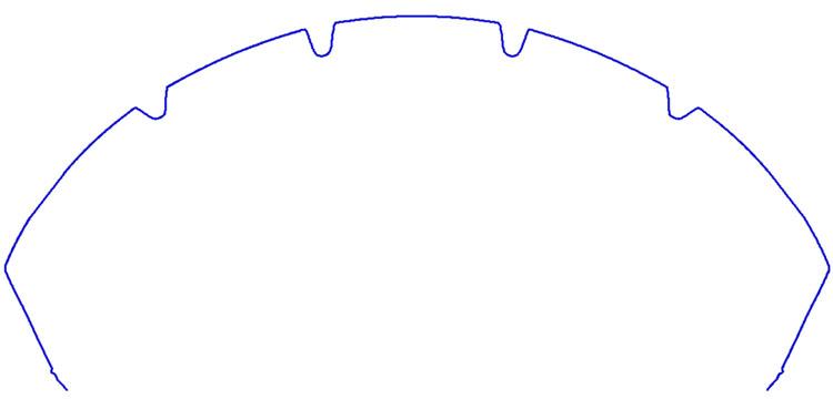 エンジェルST(右)よりラウンドしたGT(左)。エッジ部分で角度が増している様子がよく分かる