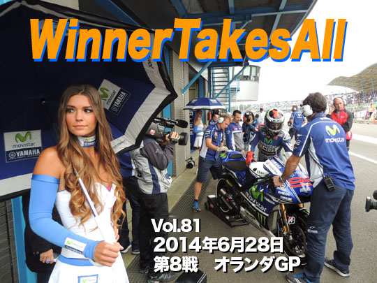 第81回 第8戦オランダGP WinnerTakesAll