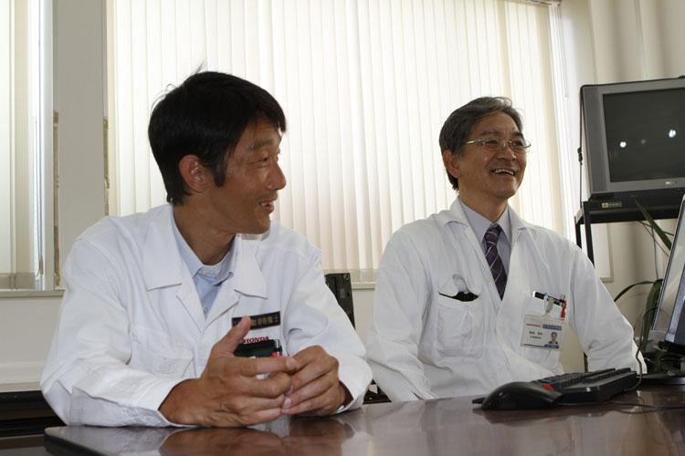 阪田先生と白上先生