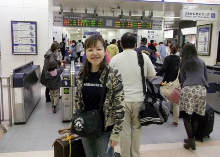 最初の予定通り東へ向け走っていたら完全に入れ違いになっていたベティ。翌日の朝、新幹線で帰って行きました