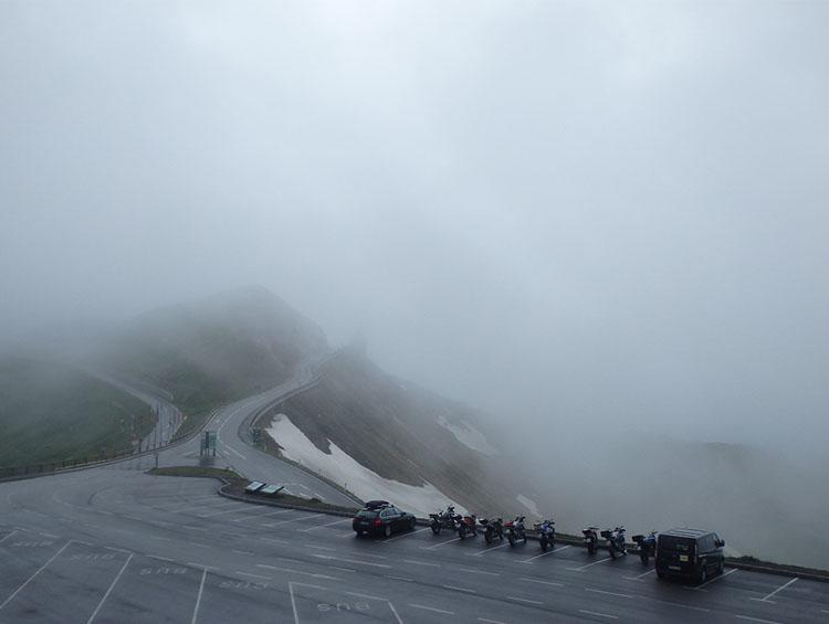 2 グロスグロックナーは雲の中